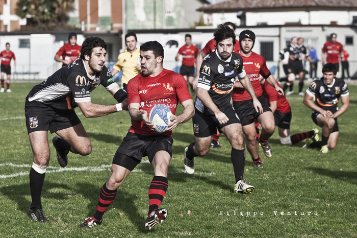 Romagna Rugby - Udine Rugby, foto 6