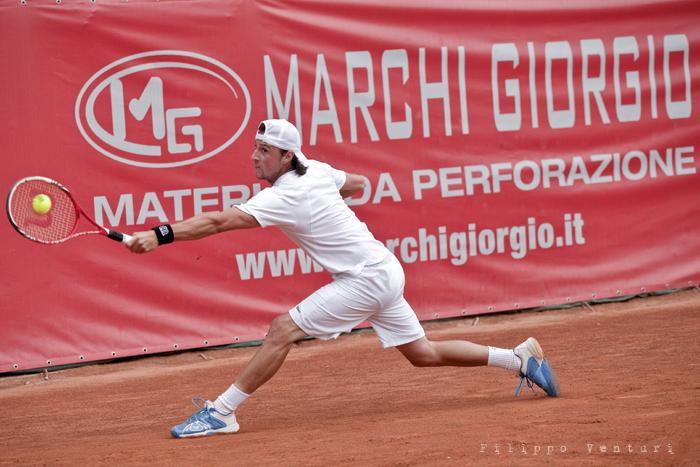 Tennis (Trofeo Giorgio Marchi 2013) Guido Andreozzi vs Andrea Arnaboldi, foto 2