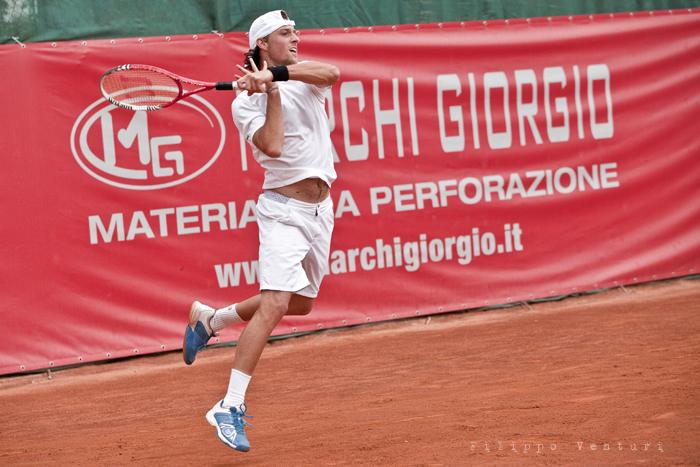 Tennis (Trofeo Giorgio Marchi 2013) Guido Andreozzi vs Andrea Arnaboldi, foto 3