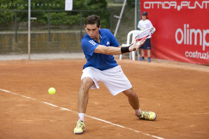 Tennis (Trofeo Giorgio Marchi 2013) Guido Andreozzi vs Andrea Arnaboldi, foto 4