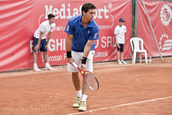 Tennis (Trofeo Giorgio Marchi 2013) Guido Andreozzi vs Andrea Arnaboldi, foto 10