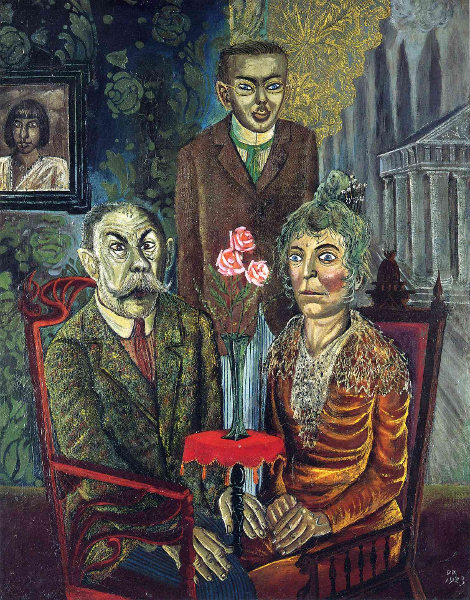 Otto Dix, The Family of the Painter Adalbert Trillhaase