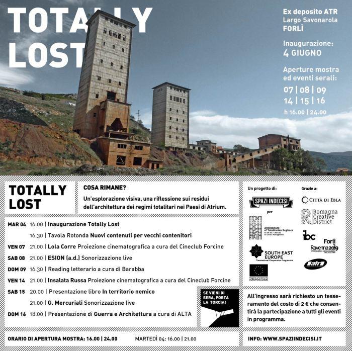 Mostra fotografica Totally Lost