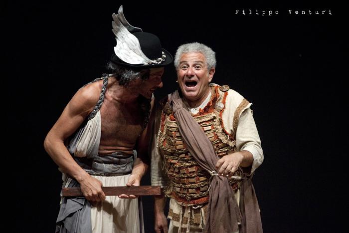 Anfitrione, con Debora Caprioglio ed Enrico Guarneri, foto 23