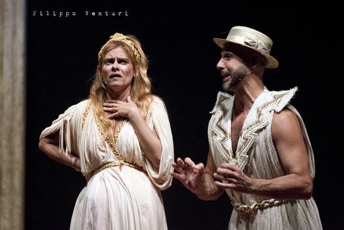 Anfitrione, con Debora Caprioglio ed Enrico Guarneri, foto 27