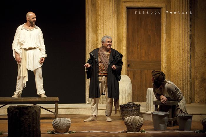 Anfitrione, con Debora Caprioglio ed Enrico Guarneri, foto 44