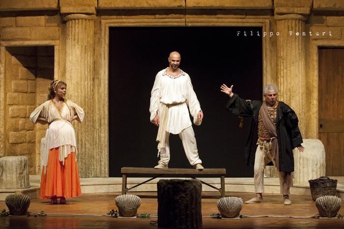 Anfitrione, con Debora Caprioglio ed Enrico Guarneri, foto 45