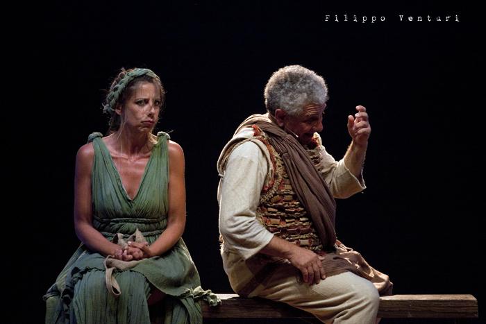 Anfitrione, con Debora Caprioglio ed Enrico Guarneri, foto 49