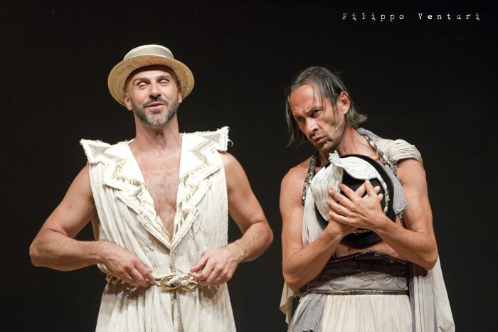 Anfitrione, con Debora Caprioglio ed Enrico Guarneri, foto 50