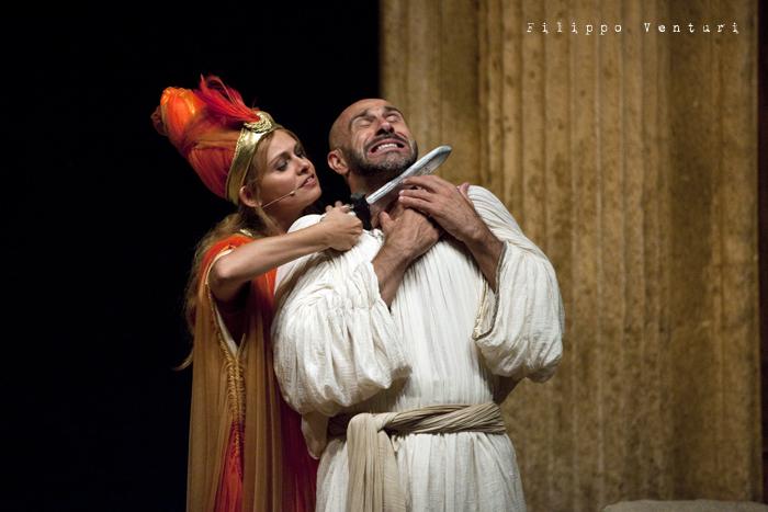 Anfitrione, con Debora Caprioglio ed Enrico Guarneri, foto 53