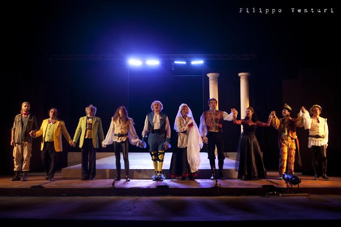La dodicesima notte, con Mariano Rigillo, foto 51