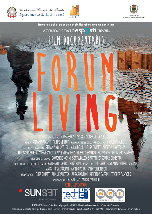 "Locandina Documentario ""Forum Living"""