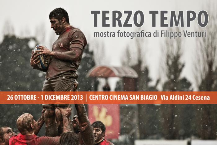 TERZO TEMPO, Mostra fotografica sul rugby di Filippo Venturi