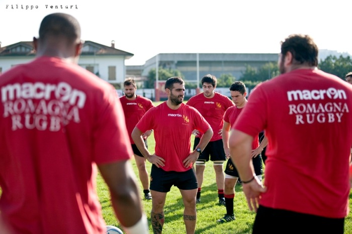 Romagna Rugby - L'Aquila Rugby, foto 2