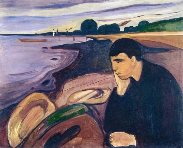 Edvard Munch, Melancolia