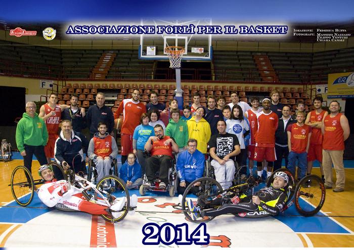 Associazione Forlì per il Basket, Calendario 2014, foto