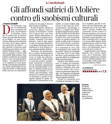 """Articolo su """"Il Corriere della Sera"""""""