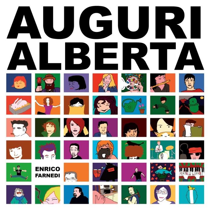 Enrico Farnedi, Auguri Alberta, Copertina