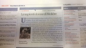"""Articolo su """"La Repubblica"""""""