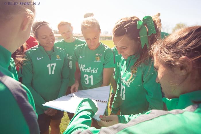 Brescia Women v Australia Women's National Team, photo 3