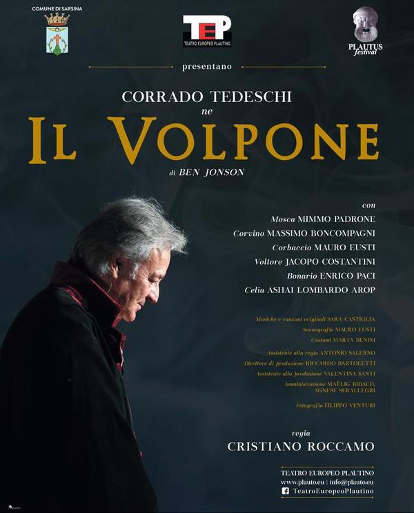 Il Volpone, con Corrado Tedeschi