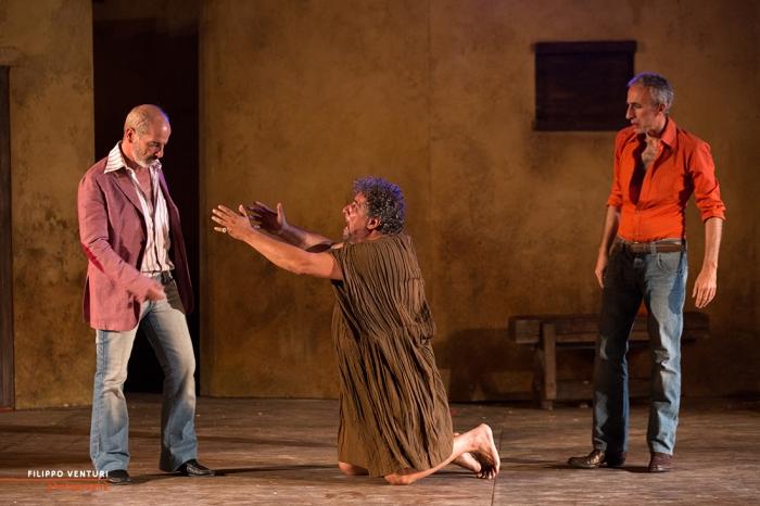 Il Vantone, con Ninetto Davoli e Edoardo Siravo