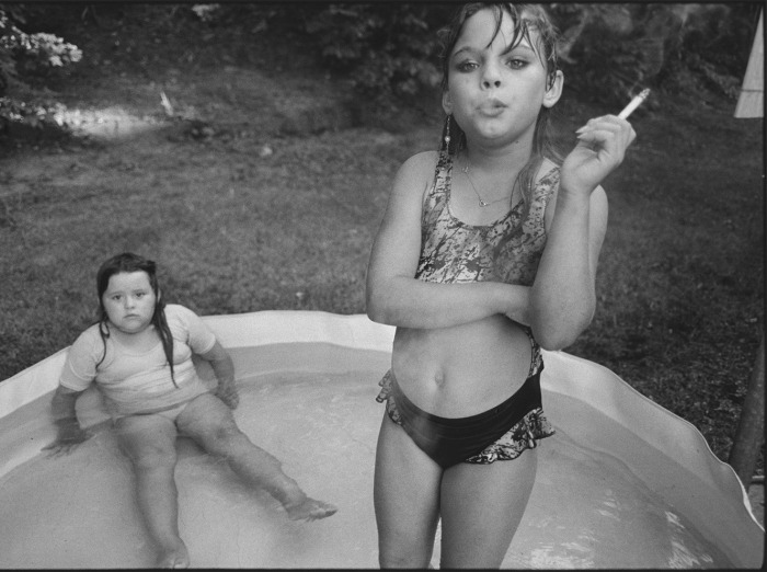 Amanda and Her Cousin Amy, 1990, @Mary Ellen Mark