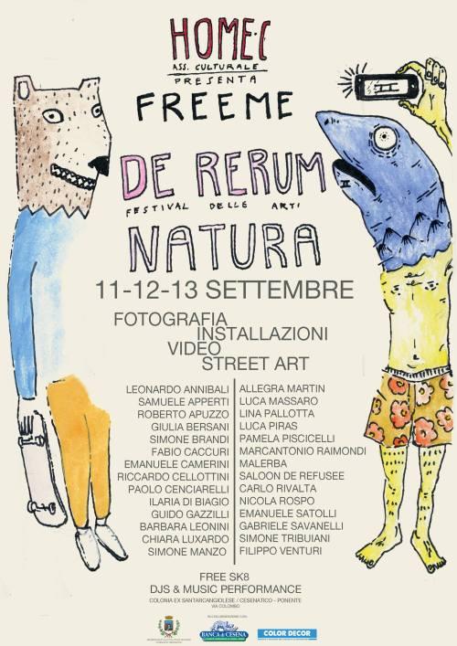 FreeMe, Festival delle Arti