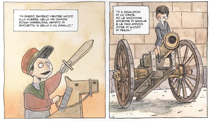 Il fumetto su Renato Serra