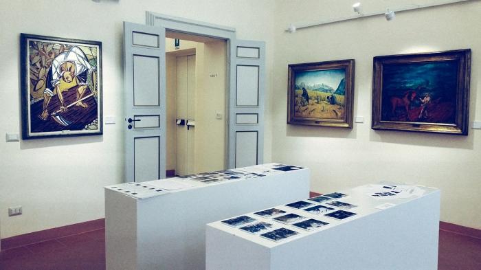 Il Lavoro Immateriale, Palazzo Romagnoli, foto 1
