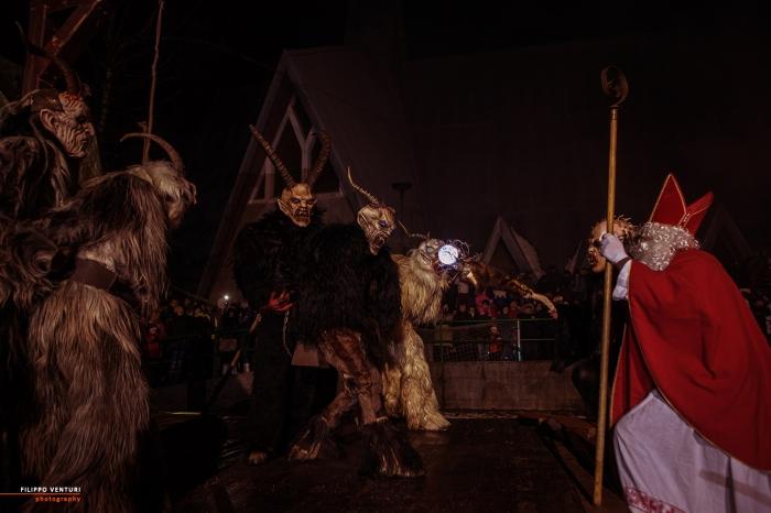 San Nicolò e i Krampus, Cave del Predil, foto 11