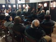 La presentazione della mostra (foto di Elisa Cimatti)