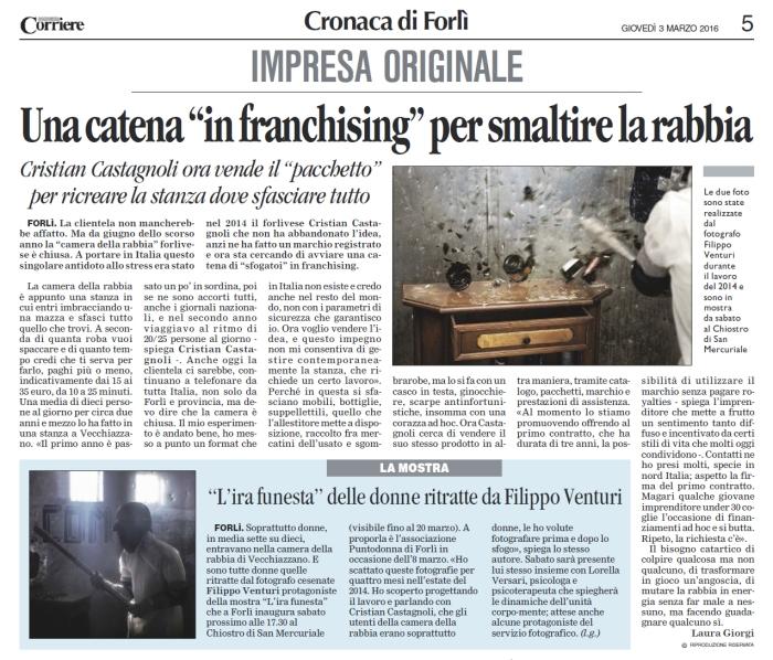 L'Ira Funesta in mostra a Forlì