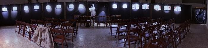 L'Ira Funesta in mostra a Forlì, l'allestimento