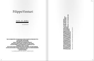 Filippo Venturi, Lazagne Magazine, #2