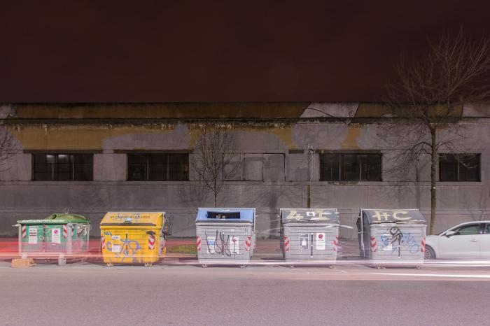 I murales di Blu cancellati in Via Fioravanti, Bologna