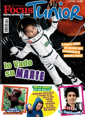 Focus Junior, copertina