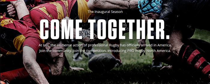 The Professional Rugby Organization (PRO)