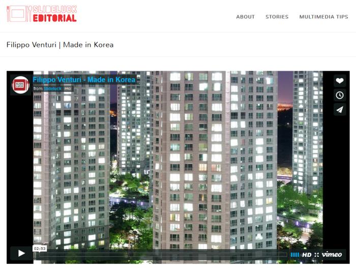 Made in Korea, il video presentato allo Slideluck Naples