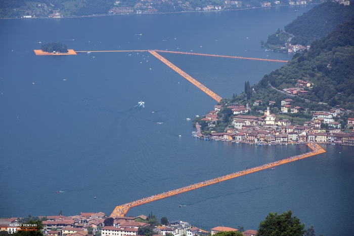 The Floating Piers, Christo (foto 1)
