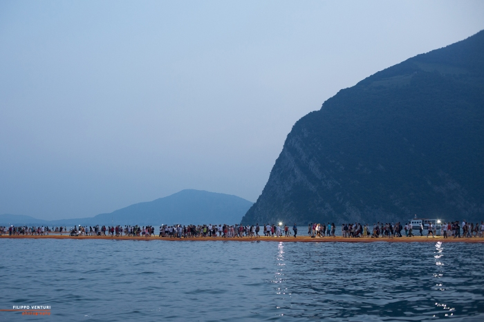 The Floating Piers, Christo (foto 2)