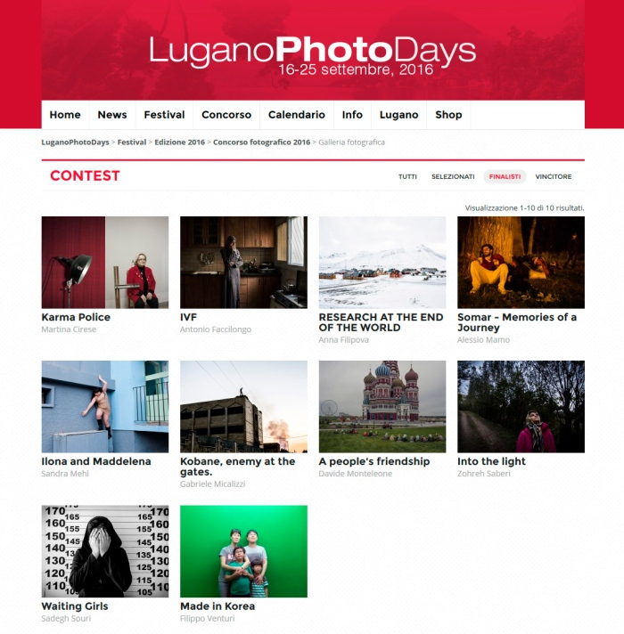 Lugano Photo Days Photo Contest 2016