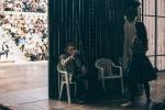 Agamennone, con Paolo Graziosi e Daniela Poggi (backstage), foto 10
