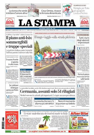 La Stampa, 17/08/2016