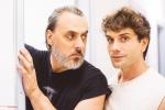 Re Lear, con Giuseppe Pambieri, backstage foto 4