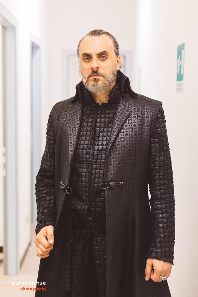 Re Lear, con Giuseppe Pambieri, backstage foto 10