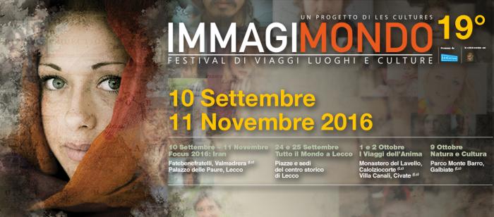 Immagimondo 2016, festival di viaggi, luoghi e culture