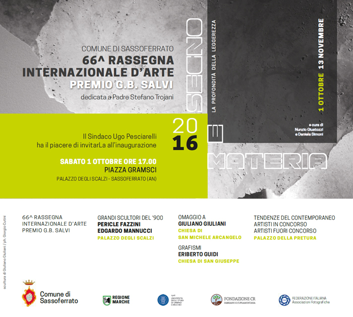 "66° Rassegna Internazionale d'Arte / Premio ""G.B. Salvi"""