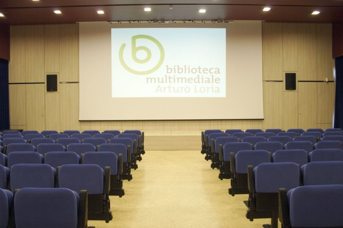 Auditorium Biblioteca Multimediale Loria