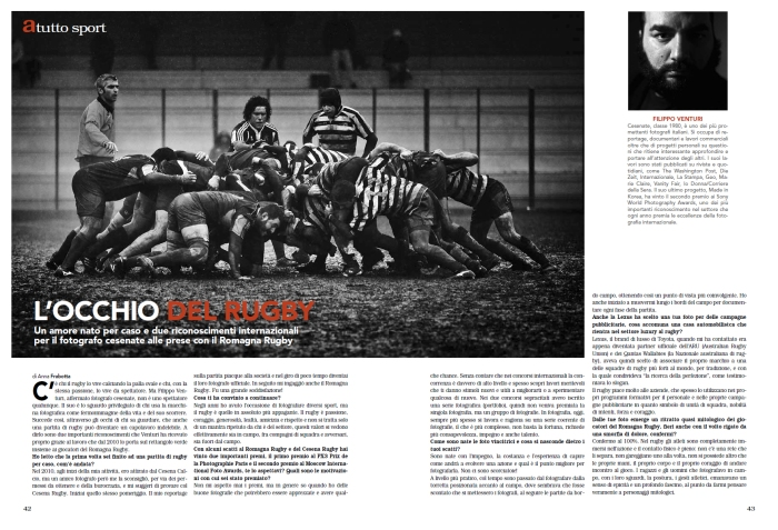 """Intervista per il magazine """"A Cesena"""""""